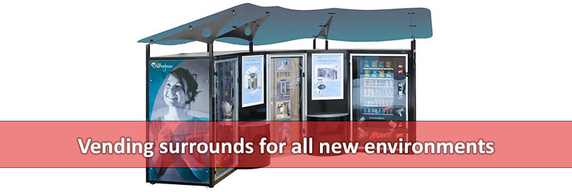 Vending surrounds for all new environments